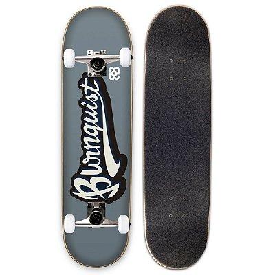 Skate Street Profissional Bob Burnquist Cinza ES037 Long