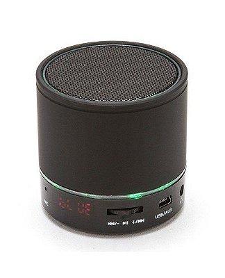 Caixa de Som Bluetooth 3W Portátil FM USB S08U - Kimaster