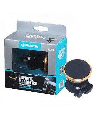 Suporte Veicular Ar Magnético Celular GPS SU203 - Kimaster
