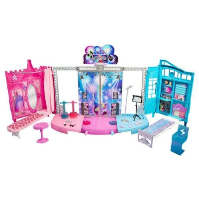 Casa Barbie Palco In Rock'n Royals Show 7798-5 - Mattel