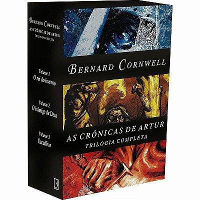 Livro Box As Crônicas De Artur (3 Volumes) Trilogia Completa