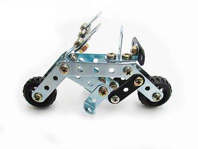 Mini Box Motoca Brinquedo de Montar Robótica - Modelix 099a
