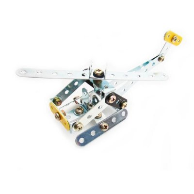 Mini Helicóptero Brinquedo de Montar Robótica - Modelix 101