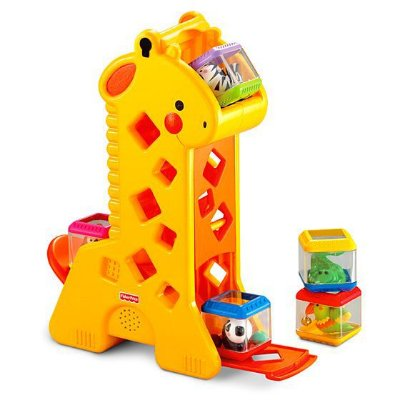 Girafa Com Blocos Fisher Price 5350-5