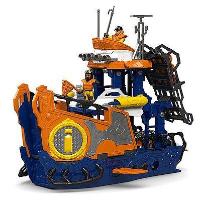Navio Comando Do Mar Imaginext Fisher Price Dfx93 Mattel