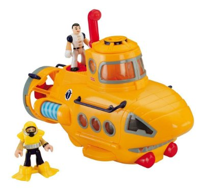 Submarino Aventura Imaginext Fisher Price N8270 Mattel