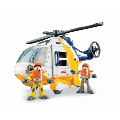 Helicóptero Aventura Imaginext Fisher Price N1396 Mattel