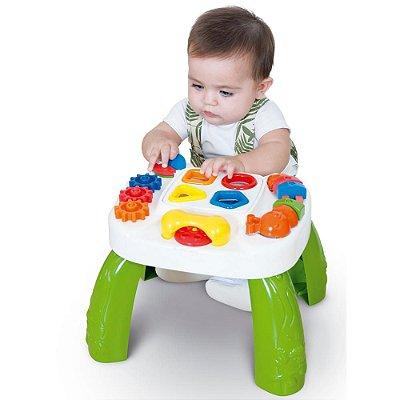 Mesa Didática Play Time Atividades Para Bebê Cotiplás 7683-3