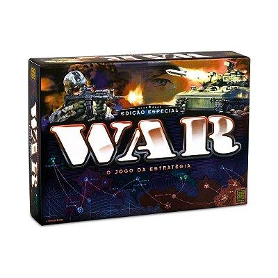 Jogo Tabuleiro War Edição Especial - Grow