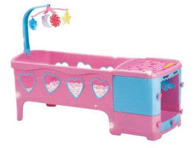 Bercinho De Boneca Berço Doce Sonho Rosa Magic Toys