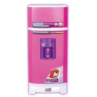 Geladeira Mágica Super Para Cozinha Infantil 8052 Magic Toys