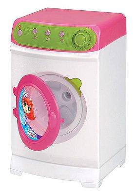 Máquina De Lavar Infantil Super Elétrica 8045 Magic Toys