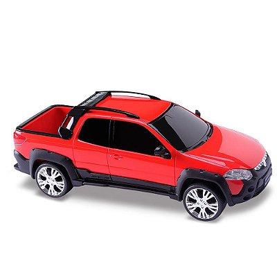 Carrinho Fiat Strada Adventre Infantil 7852-8 Roma Brinquedos