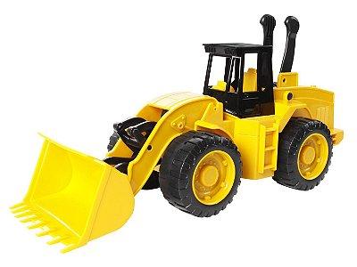 Trator Carregadeira Workers 7390-6 Roma Brinquedos