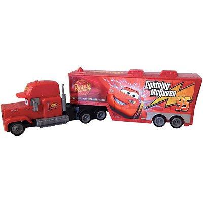 Caminhão Disney Carros Mack Fricção 8031-7 Toyng