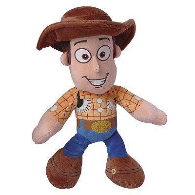 Boneco Woody Pelúcia Toy Story Candide