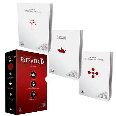 Box Especial Essencial Da Estratégia 3 Livros