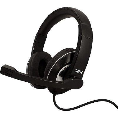 Fone De Ouvido Headset Gamer Prime Microfone Usb Hs201 Oex