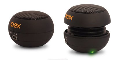 Mini Caixa De Som Celular Tablet 3w Speaker 360 P2 Sk300 Oex