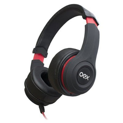 Fone De Ouvido Headset Smooth Com Microfone Hs204 Oex