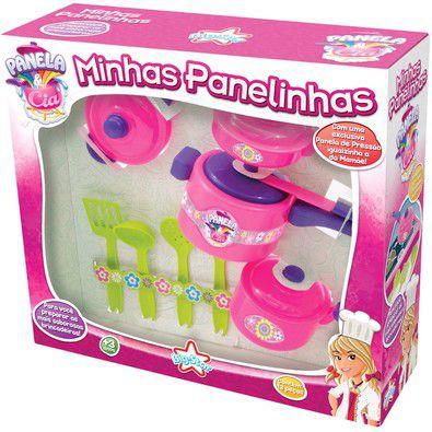 Minhas Panelinhas Brinquedo Criança Casinha Big Star