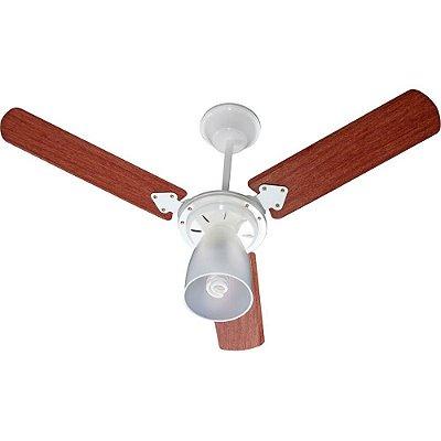 Ventilador Marbella 130W Branco Pás Verniz Tron