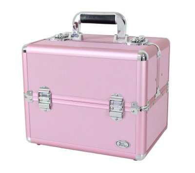 Maleta Profissional Maquiagem Rosa BSB15097 Jacki Design