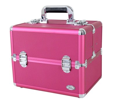 Maleta Profissional Maquiagem Pink BSB15098 Jacki Design