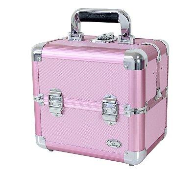 Maleta Profissional Maquiagem Rosa BSB15101 Jacki Design