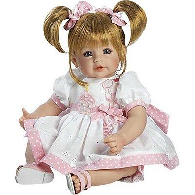 Boneca Bebê Realista Menina Happy Birthday 20908 Adora