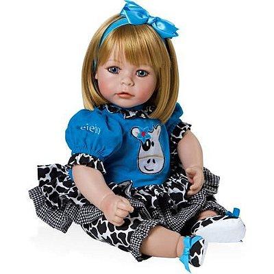 Boneca Bebê Realista Menina E.I.E.I.O 2021019 Adora