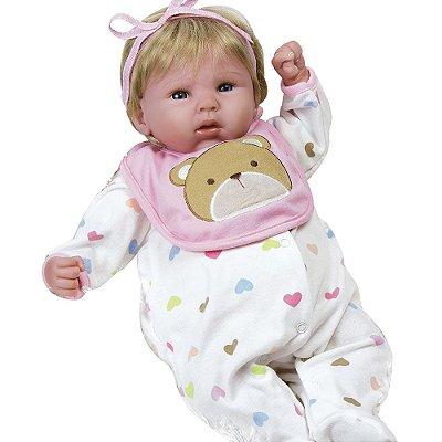 Boneca Reborn Bebê Realista Menina Happy Teddy 21002100