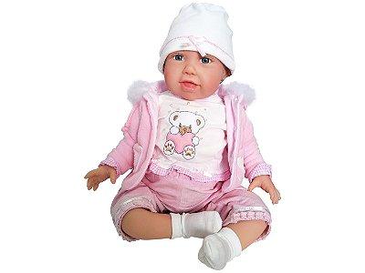 Boneca Reborn Bebê Realista Menina Bear Bella 31042100