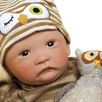 Boneca Reborn Bebê Realista Menino Hoot Hoot 21072200