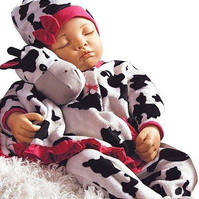 Boneca Reborn Bebê Realista Menina Over the Mooon 31032100