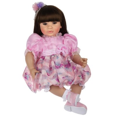Boneca Bebê Realista Menina Violet ADL221068  Laura Doll
