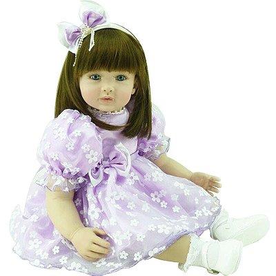 Boneca Bebê Realista Menina Belinda ADL221072 Laura Doll