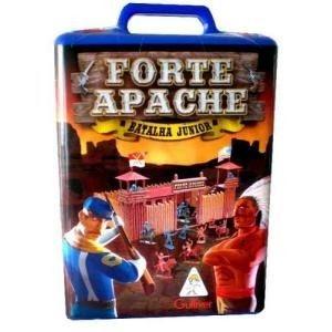 Forte Apache Batalha Jr Brinquedos Antigos Bonecos Miniaturas Gulliver