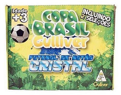 Futebol De Botão Cristal 2 Seleções Brasil x Espanha