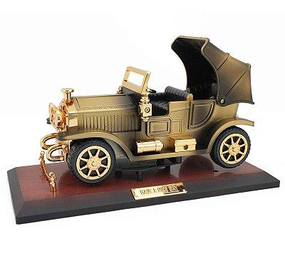 Carro Miniatura Retrô Calhambeque Enfeite Vintage Decoração