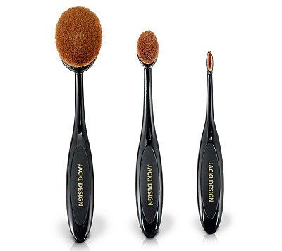 Pincel Escova Maquiagem 3 Peças AYD17180 - Jacki Design