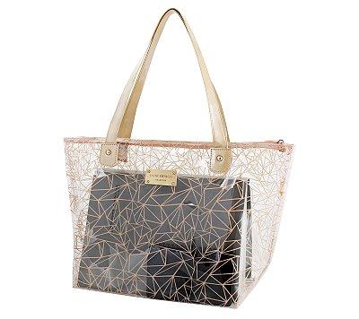 Bolsa Sacola Shopper Transparente ABC17190 - Jacki Design