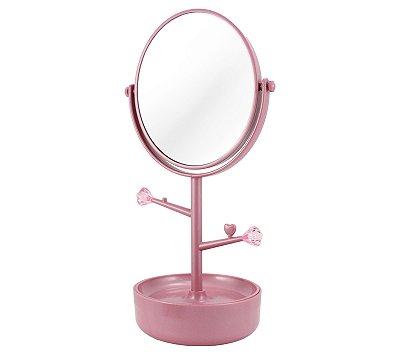 Espelho Maquiagem 5x Zoom Porta Joias AWA17151 - Jacki Design
