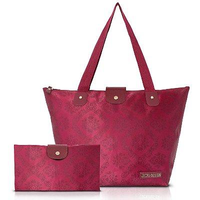 Bolsa Feminina Grande Sacola Dobrável ABC15079 - Jacki Design
