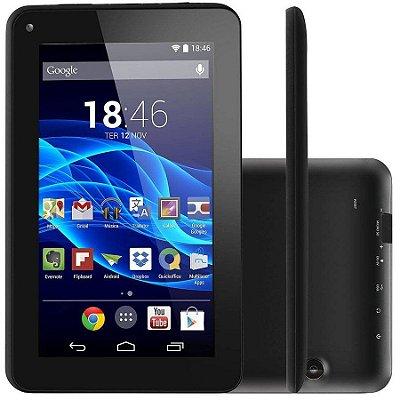 Tablet Supra Quad Core 7 Polegadas Preto - NB199 Multilaser