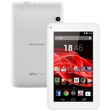 Tablet Supra Quad Core 7 Polegadas Branco - NB200 Multilaser