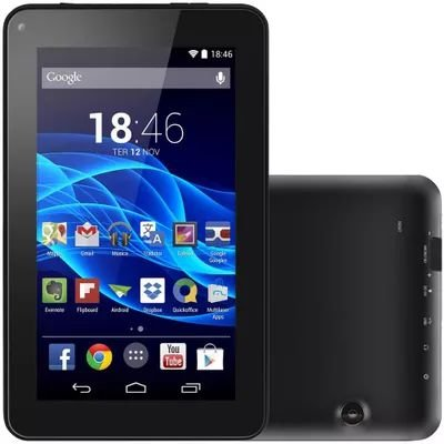 Tablet Tela 7 Android 4.4 8gb Wifi Teclado - NB184 Multilaser