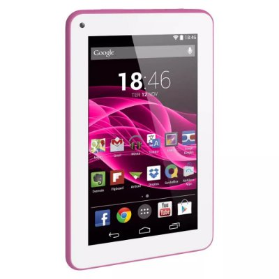 Tablet  M7S Tela 7 Android 4.4 8gb Rosa NB186 Multilaser
