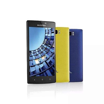 Smartphone MS60 4G Preto P9005 Multilaser + Micro SD 16Gb