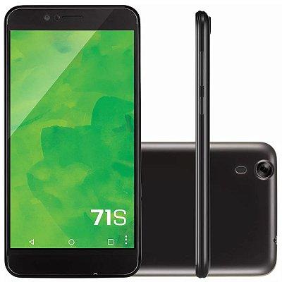 Smartphone 71S Preto 1001 - Mirage